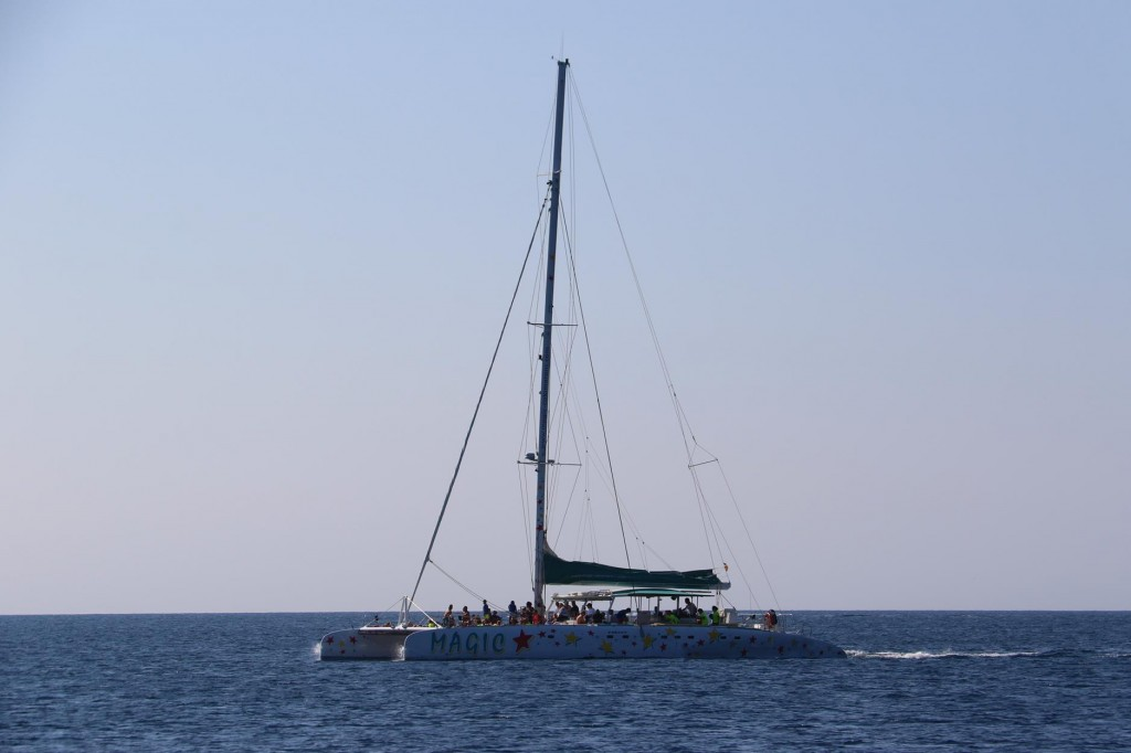 Day trips out of Puerto de Roses take many holiday makers out for the day to Cap de Creus