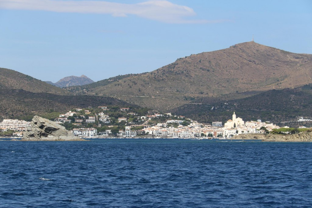 Once again we pass Cadaques where we spent a few days during the week