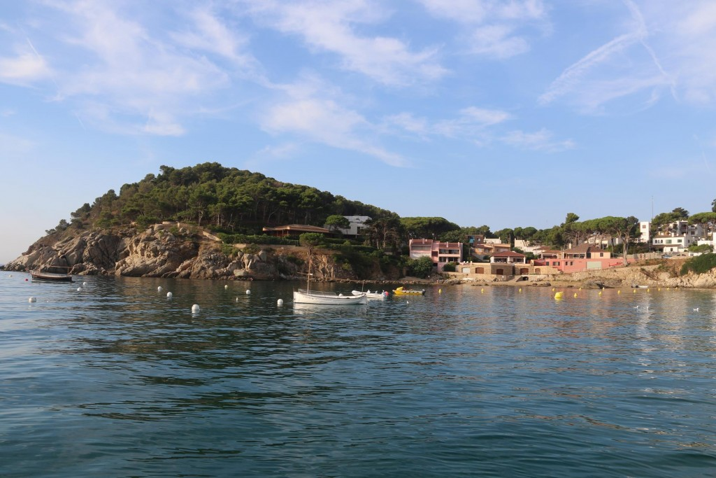 This morning Cala Fosca is very peaceful and quiet