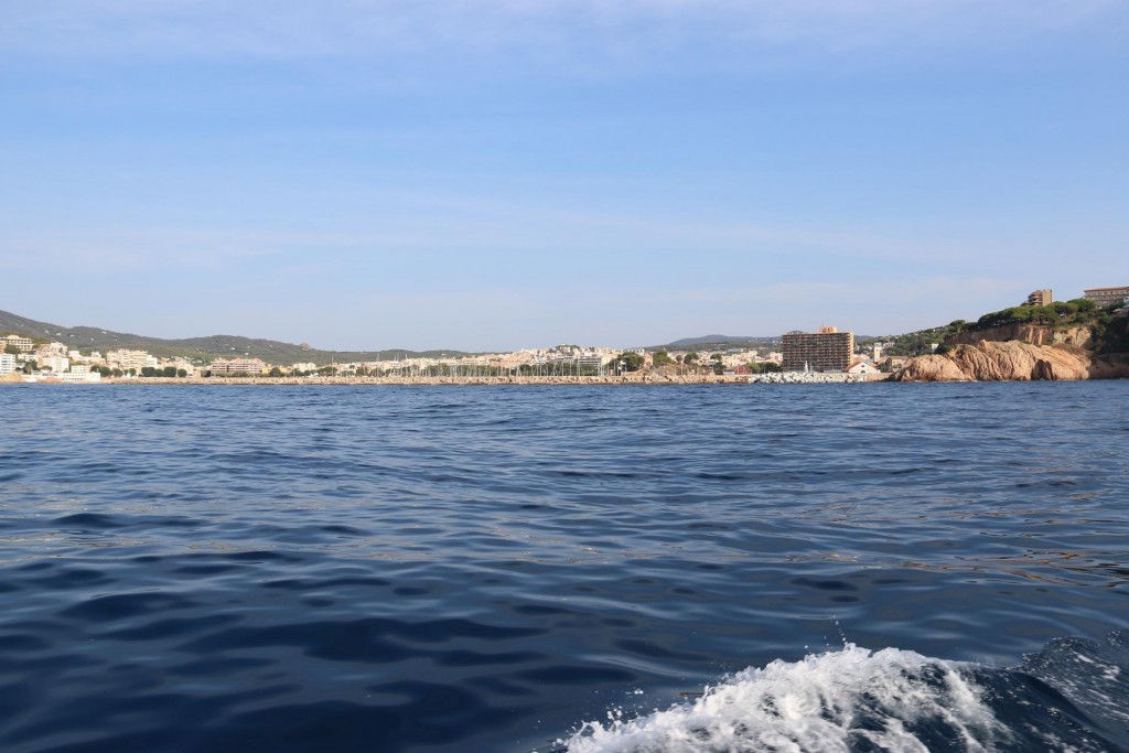 The port of Sant Feliu de Guixols