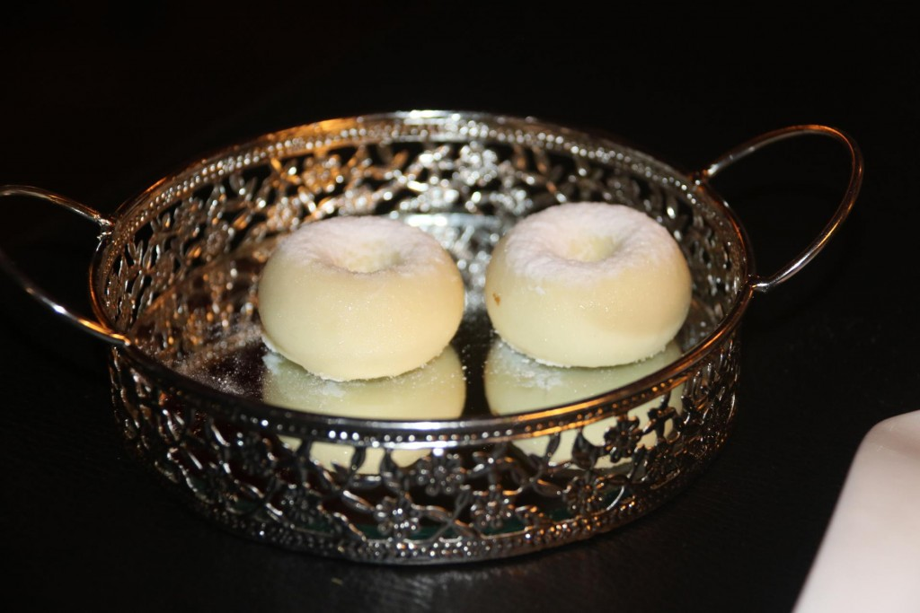 Delicious Foie Gras with white chocolate