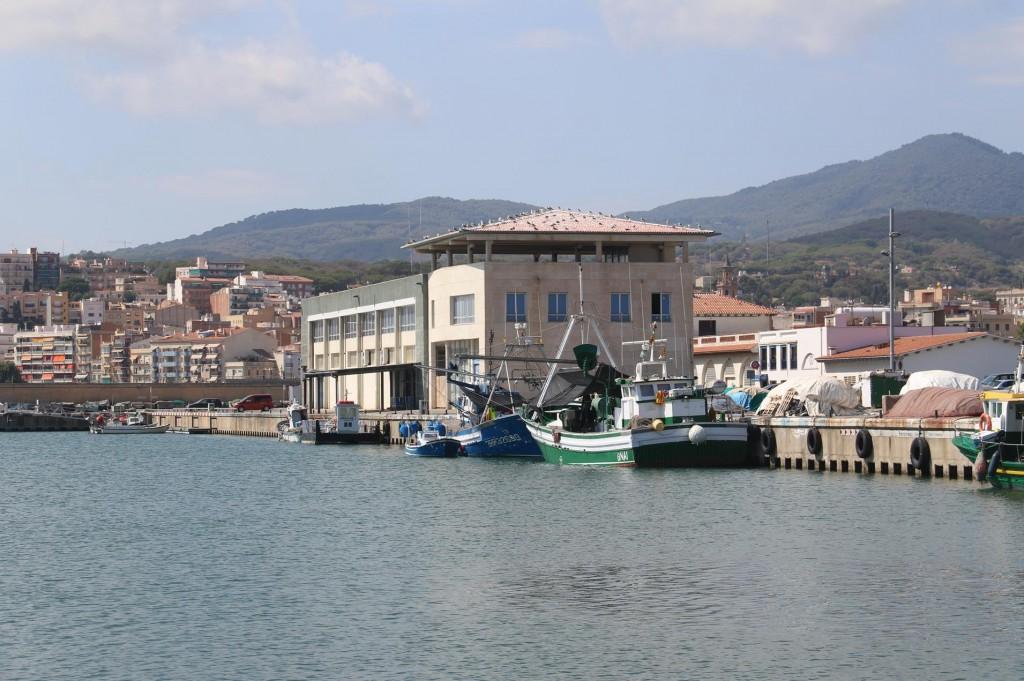 Our friend Tony has offices here in Puerto de Arenys de Mar