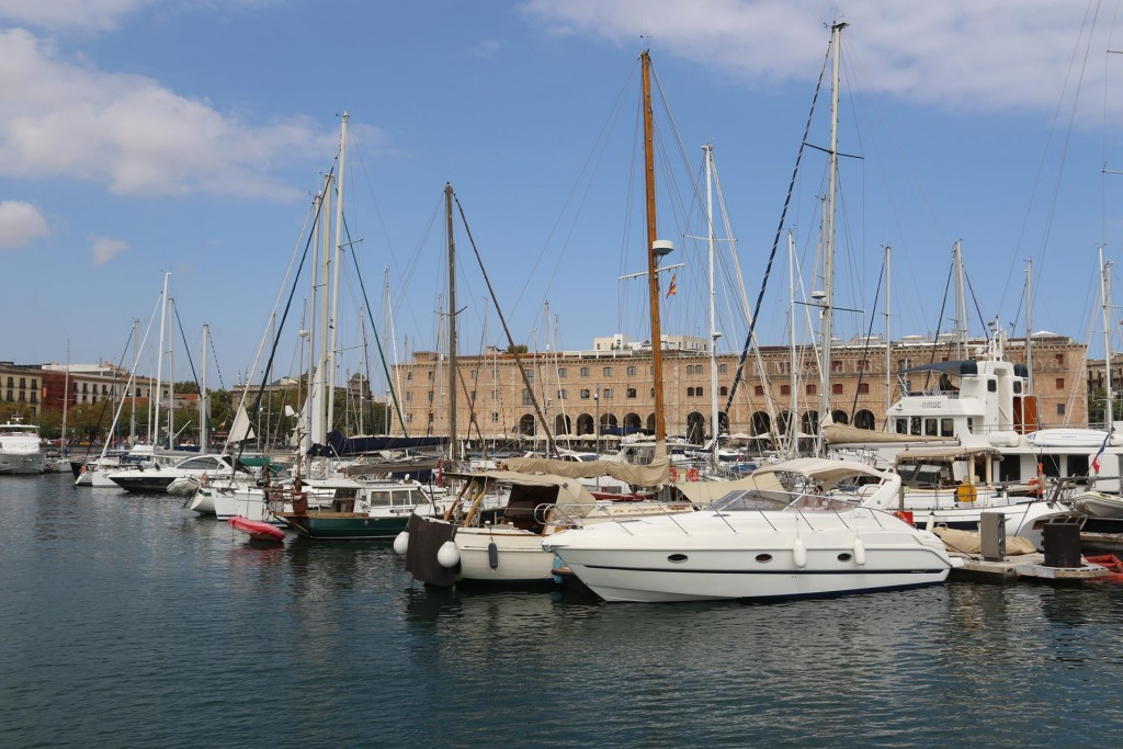 The marina seems to have increased in size since our last visit here 7 years ago