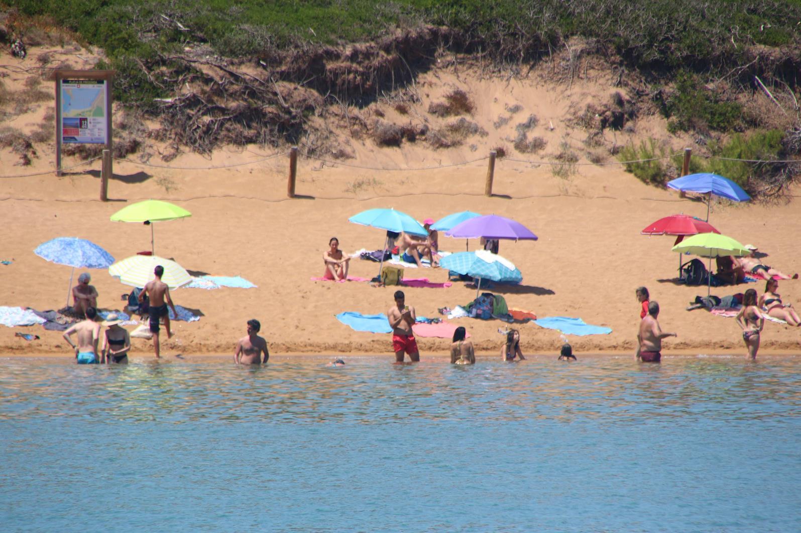 2018-07-27 Cala Pregonda, Menorca, Islas Baleares, Spain – Come